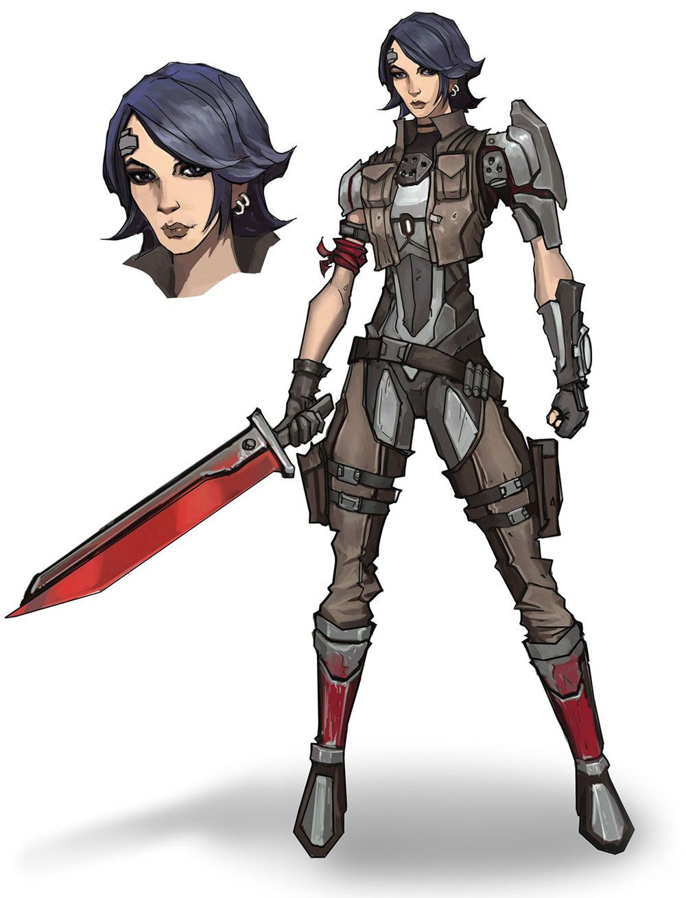 Athena Concept from Borderlands: The Pre-Sequel | Reference