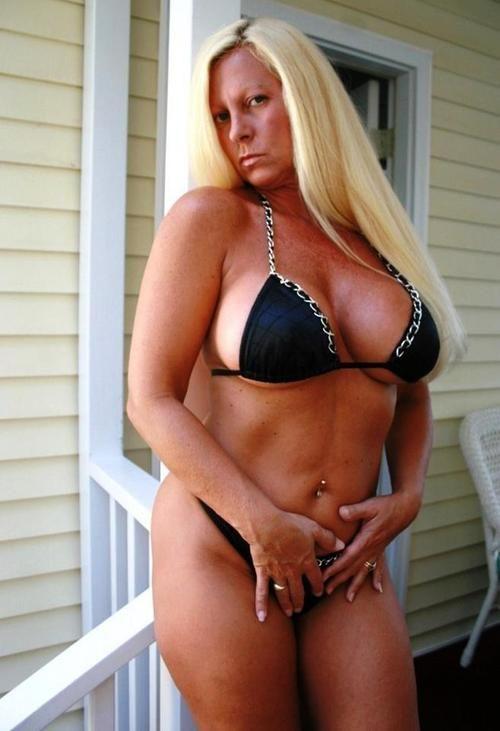 Busty Gilf In A Black Bikini  Eye Candy  Bikinis
