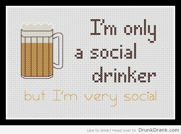 how to become a social drinker