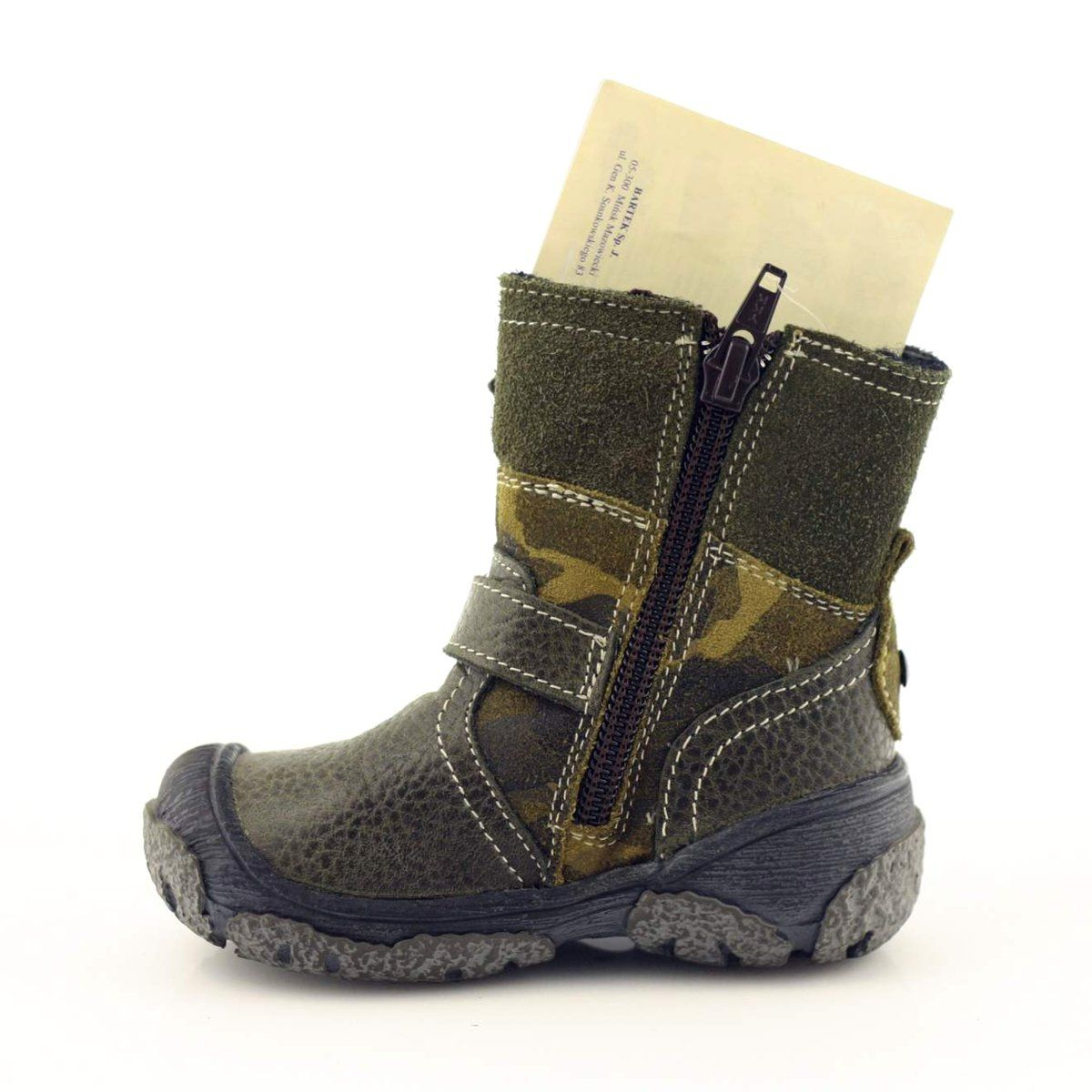 Green Boots For Kids Bartek 91543 Multicolored Boots Childrens Boots Green Boots