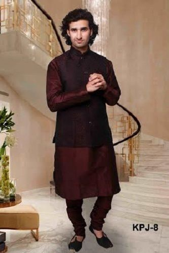 7f021cbd44 Traditional Indian Bollywood Men Designer Kurta Pajama Pyjama with Nehru  Jacket #Unbranded