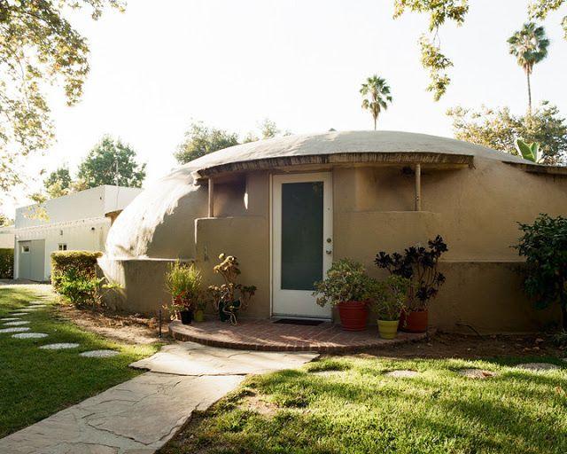 Wallace Neff bubble house Houses + places Pinterest Maison