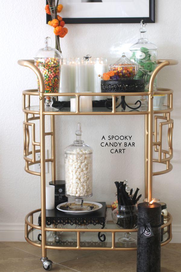 A Candy Bar Cart