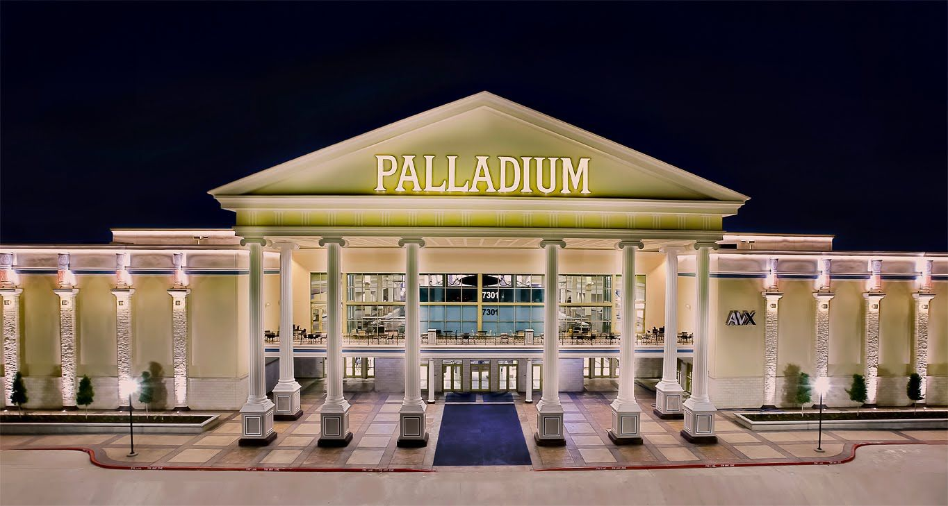 9806536485 Santikos Palladium IMAX-San Antonio is an art-house movie theater with a  full food & drink menu, plus table seating & wait service.