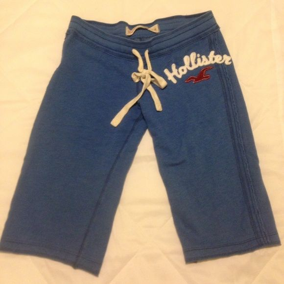 Hollister sweats Knee length Hollister sweats- very comfy! Great for relaxing! FORMER HOLLISTER EMPLOYEE-DRY CLEANED AFTER LAST WEAR!! Hollister Pants