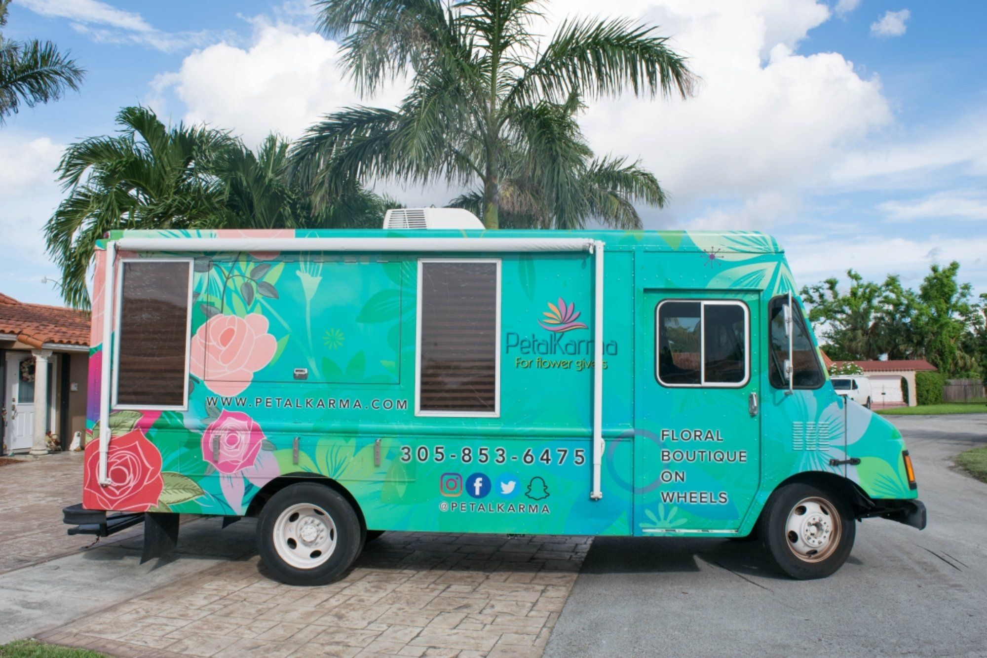 Flower truck more sales linkedin recreational