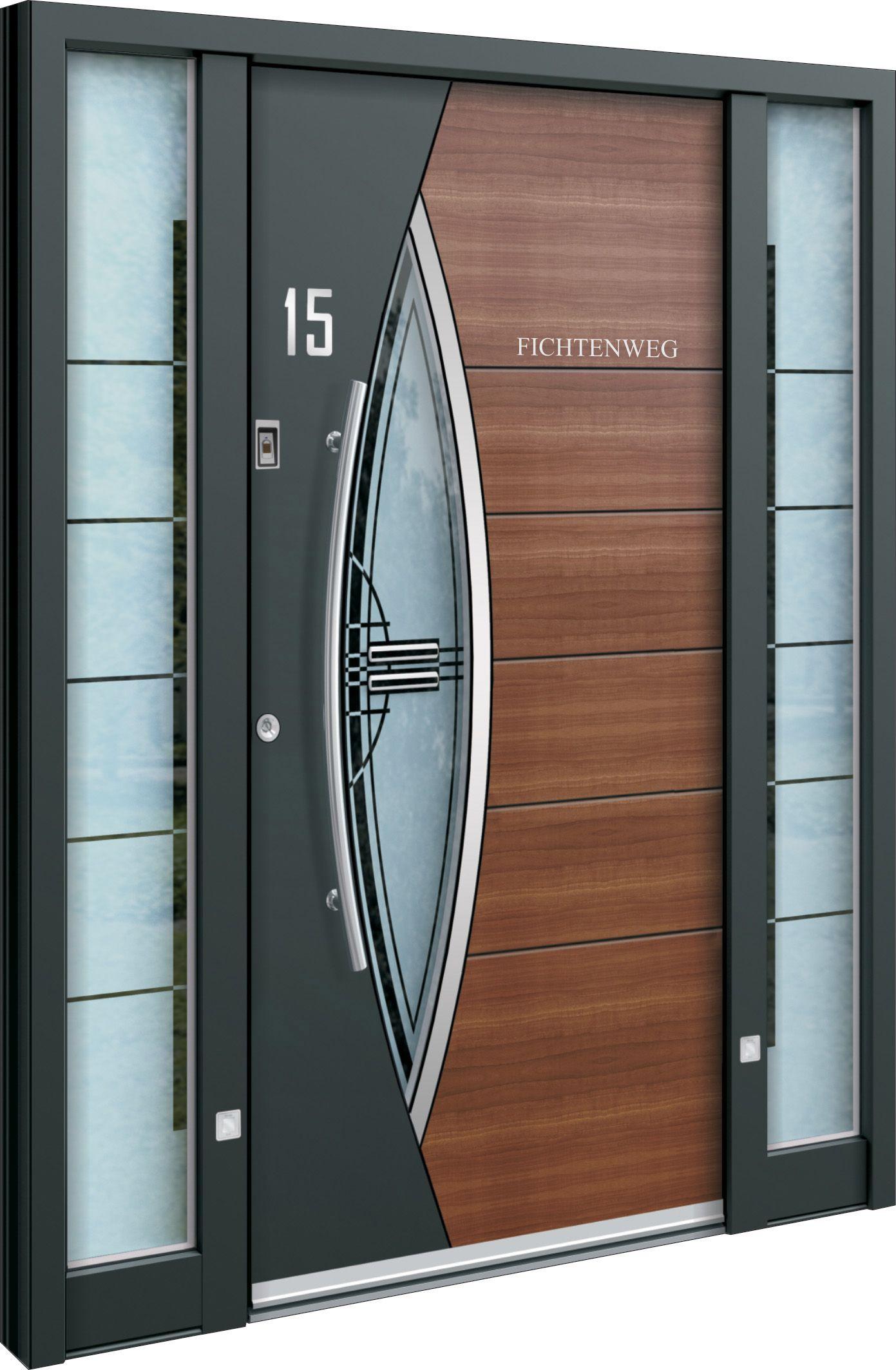 Haustür Aus Aluminium Modern Und Zeitlos Alu Fenster