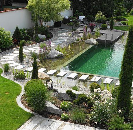 Rieper Silbernagl Gartengestaltung Und Schwimmteiche In Ingolstadt Mit Bildern Gartengestaltung Garten Design Naturschwimmbecken