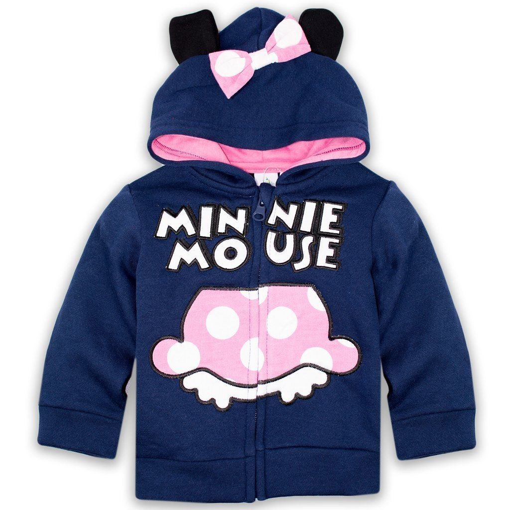 d950a7abb687 Disney Minnie Mouse Baby Girl Hoodie