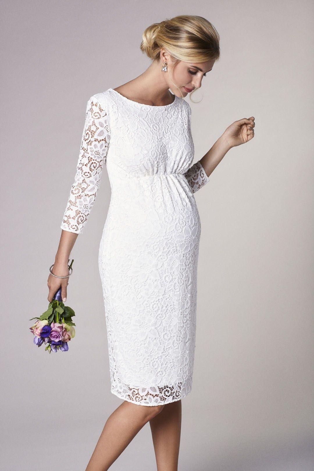 Brautkleider für Schwangere von Boesckens Erkelenz  Brautkleider