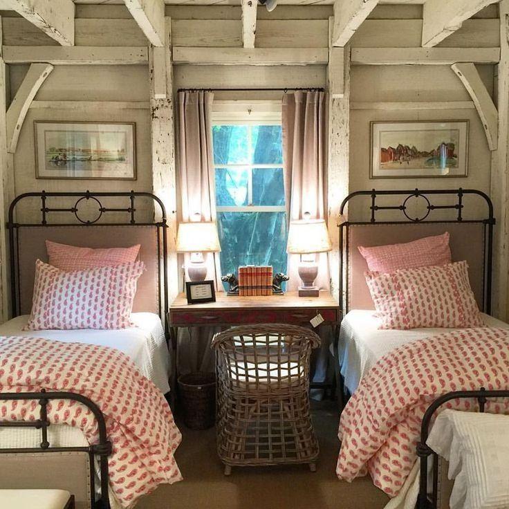49 Erstaunliche rustikale Lake House Schlafzimmer