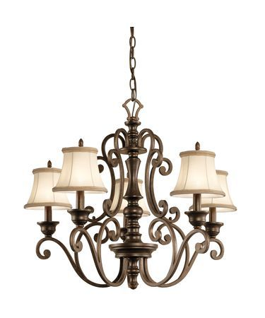Kichler 43279 Mithras 24 Inch Single Tier Chandelier