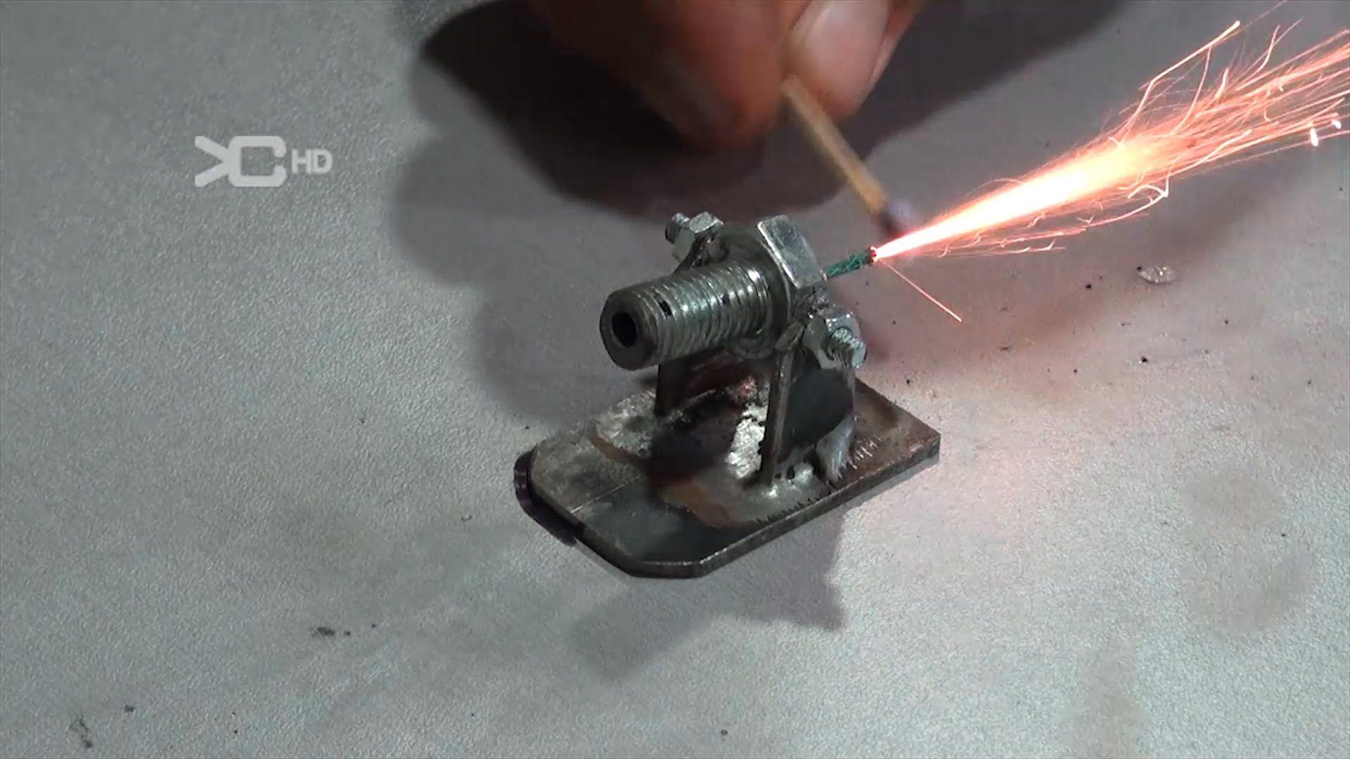 Mini cannon muzzle loading