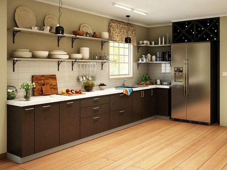 Cocinas pequeñas en forma de L - cincuenta diseños | diseño ...