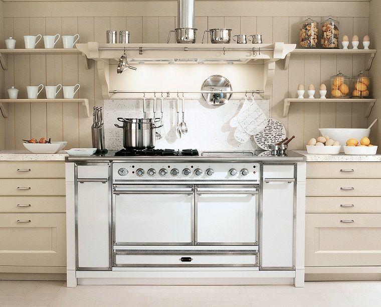 cucina-stile-inglese-mobili-bianchi | Arredamento | Stile ...