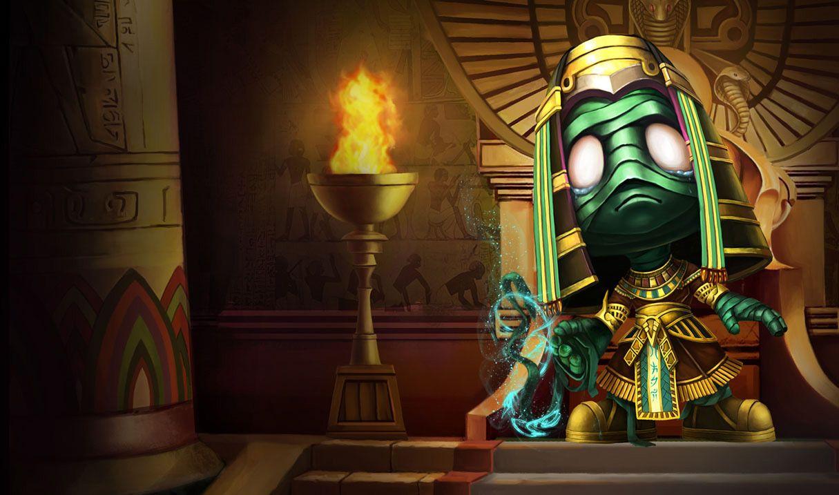 Amumu the Sad Mummy; League of Legends