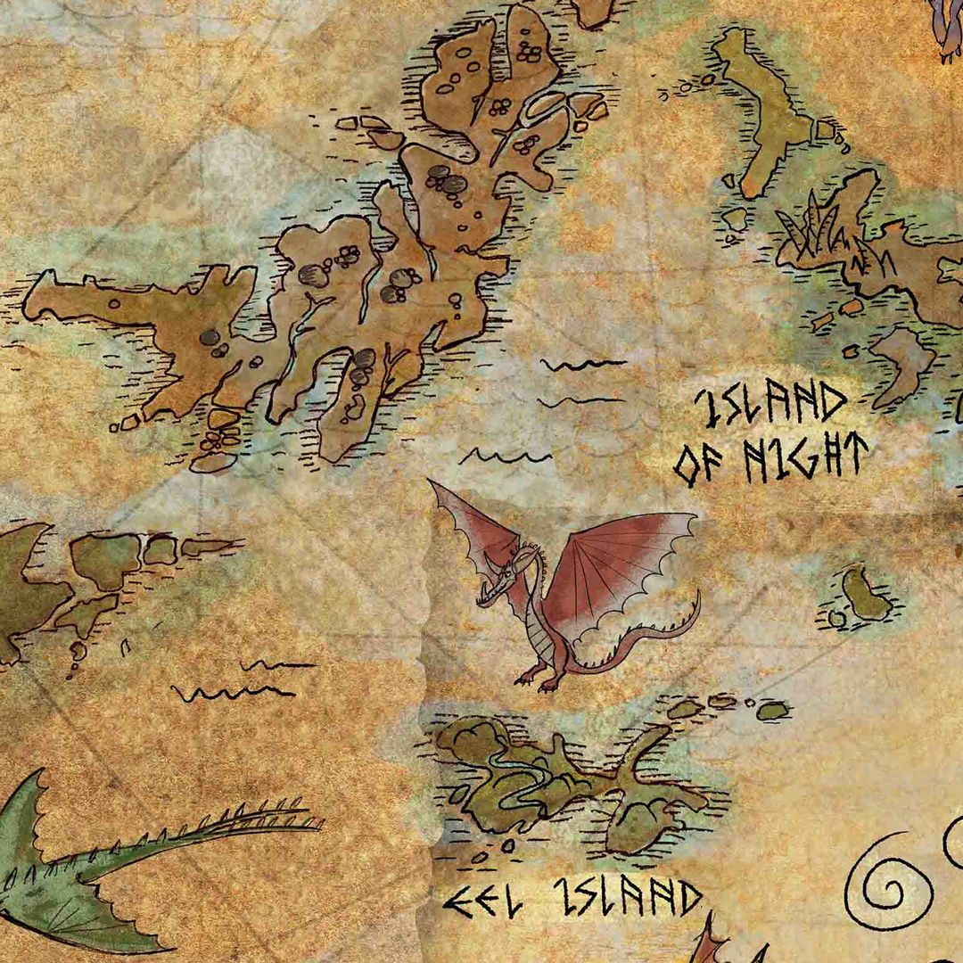 Did the Dragon Eye help Hiccup create his map? Read more about DreamWorks Dragons: Race to the Edge on Berk's Grapevine!