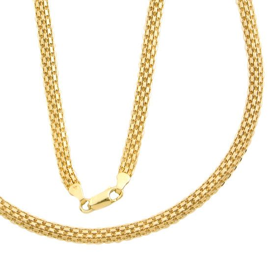 necklace grande gold herringbone chain products kingice ice thick king