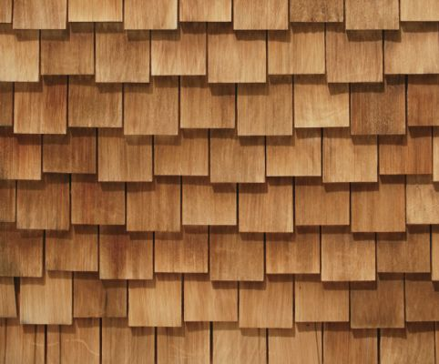 Diy Pallet Shingles Google Search Wood Siding Exterior Wood