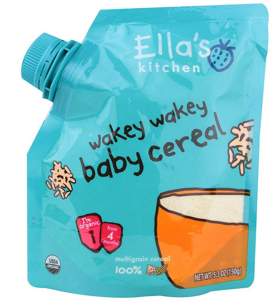 Ella\'s Kitchen Organic Wakey Wakey Baby Cereal Multigrain | Mother ...