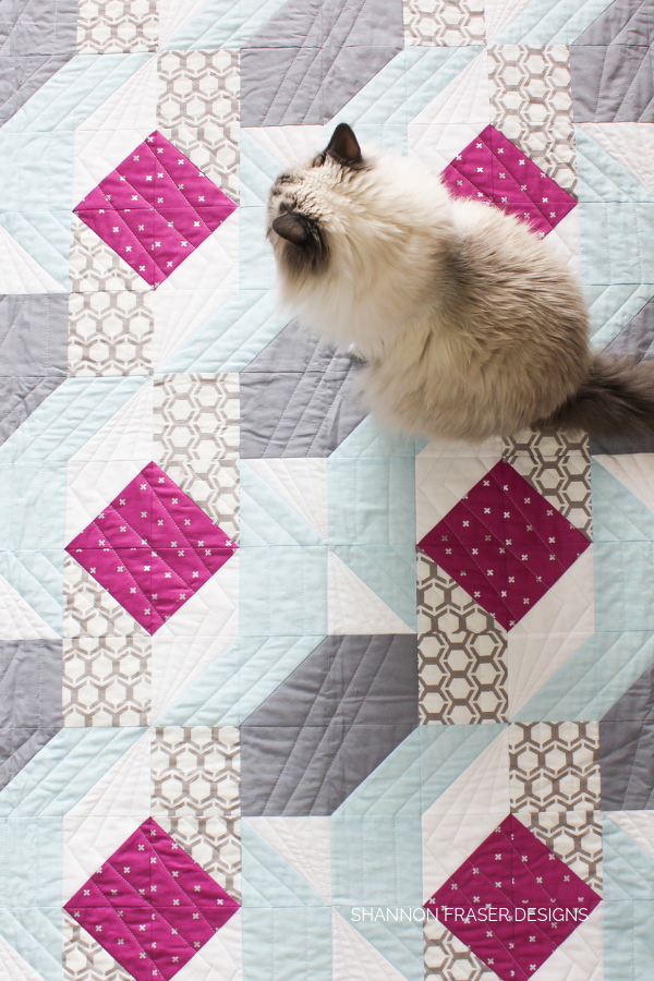 Rocksteady Quilt | Modern Quilt Pattern by Suzy Quilts