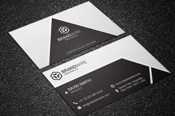 Black White Business Card Cartes De Visite OriginalesIdes PhotoshootNoir Et BlancModles
