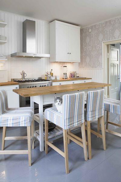 An kitchen-island putting a floor above a narrow cabinet ikea. Diy ...
