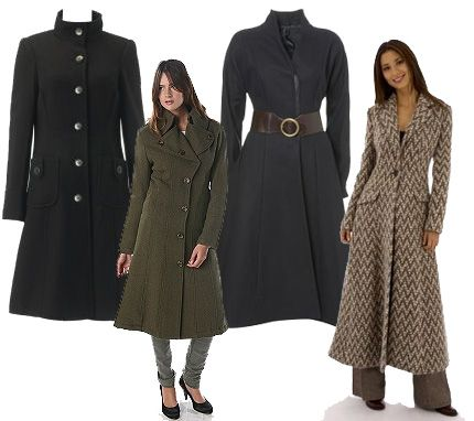 Women Long Coats Photo Album - Reikian