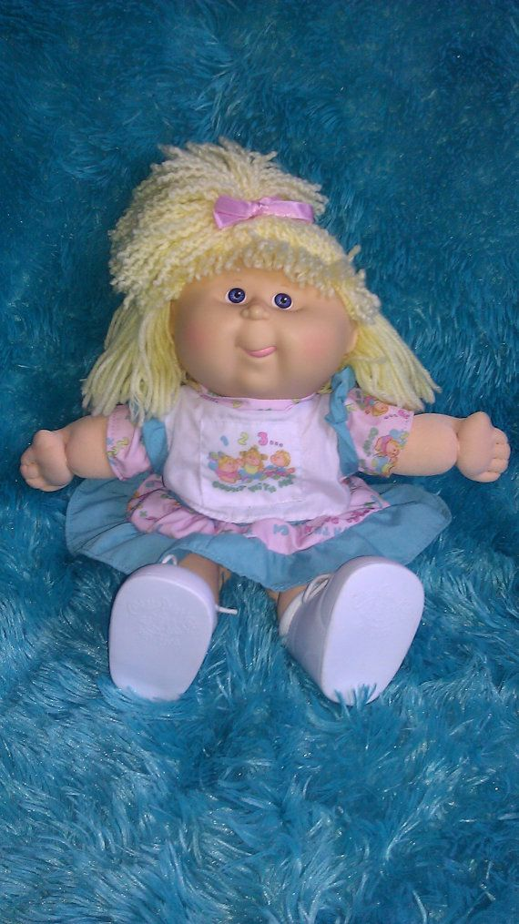 Vintage 1st Edition Hasbro Cabbage Patch Preschool Kid Etsy Cabbage Patch Babies Cabbage Patch Kids Dolls Cabbage Patch Dolls
