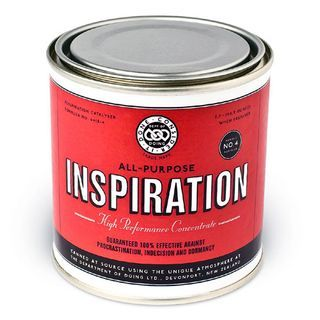 If Inspiration came in a can...