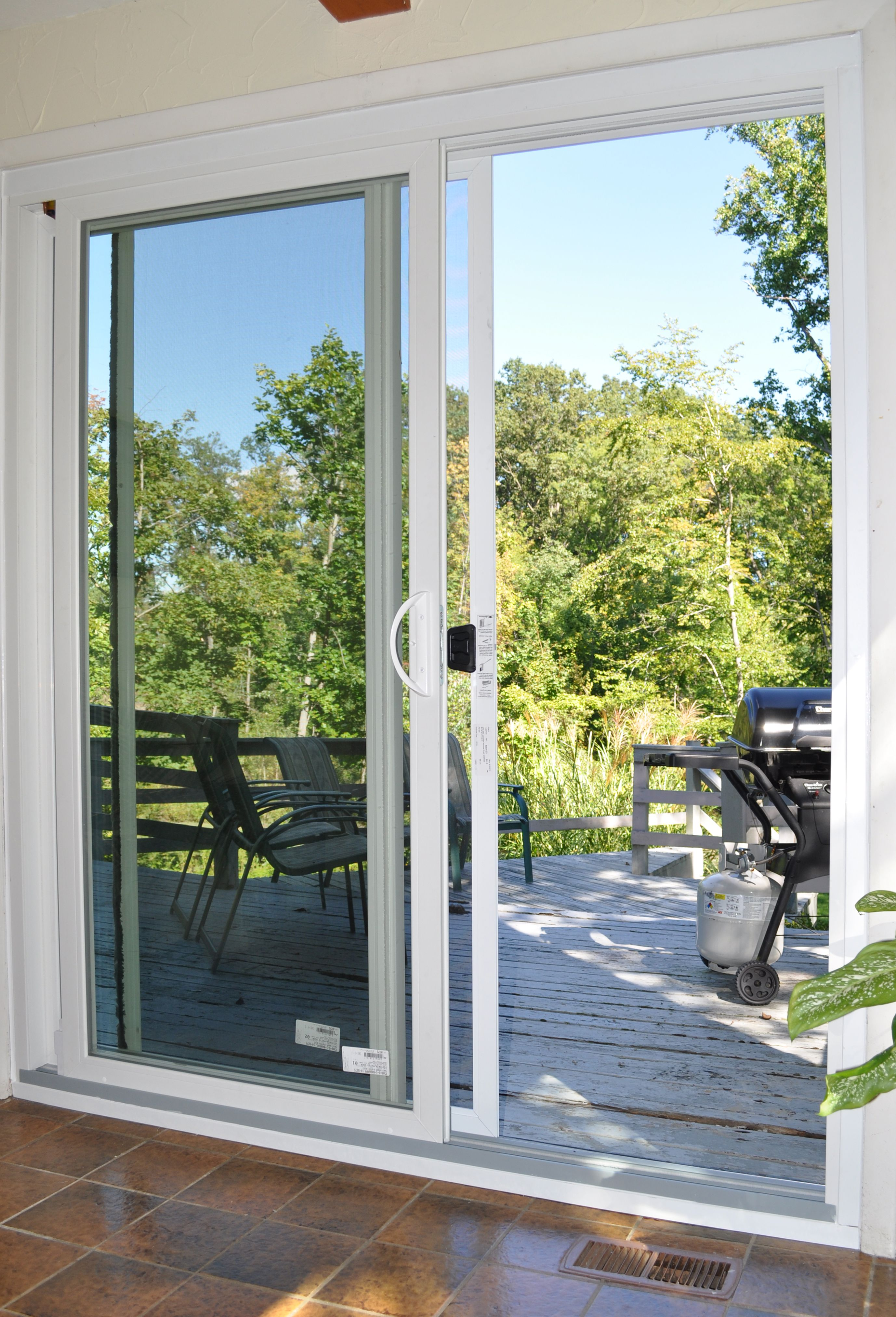 Replace your old drafty sliding glass door for one that easily glides open & Replace your old drafty sliding glass door for one that easily ... Pezcame.Com