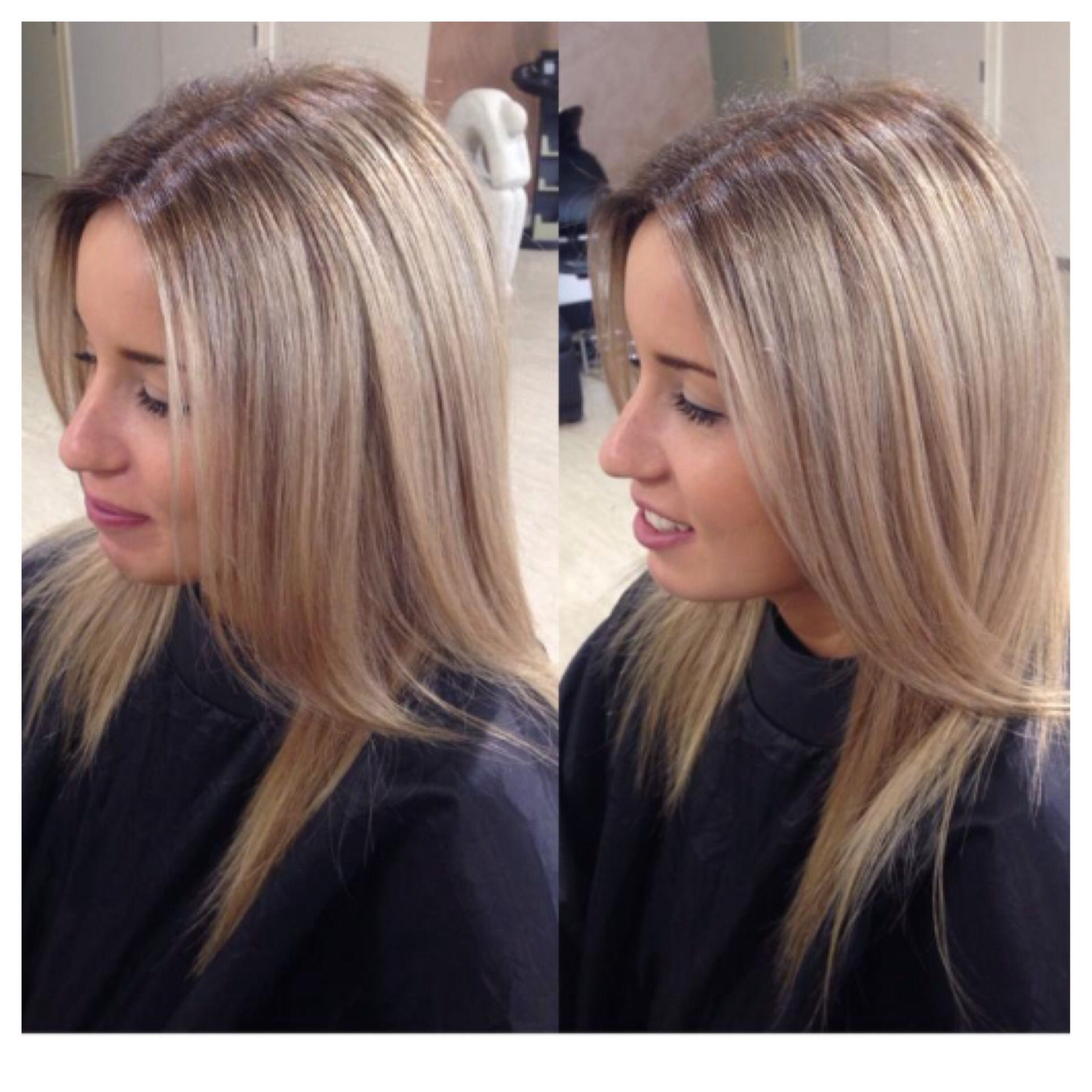 A Natural Regrowth To Blonde Before Amp Afters