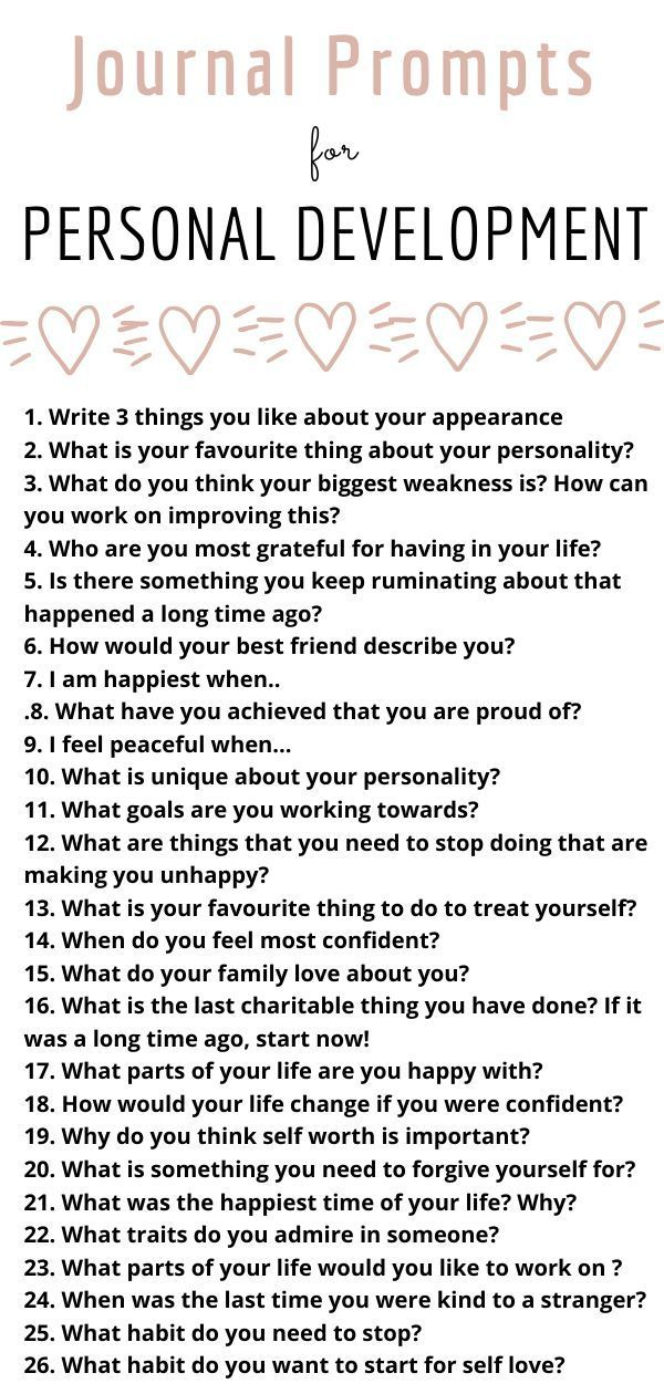 37 Self Love Journal Prompts - danxiety