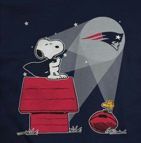 Snoopy knows... New England Football f89cd8dc8