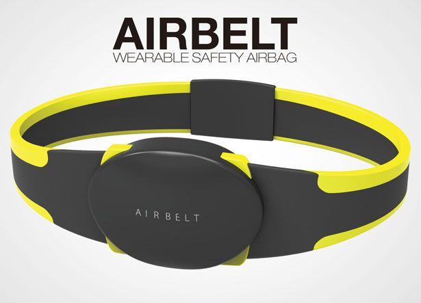 Correo electrónico     AirBelt: Usable seguridad Airbag protege el cuerpo de sus usuarios en un accidente. Diseñador: Rich Park Bolsas de aire han sido diseñados para proteger la cabeza de adulto en un accidente, sin embargo, no hay ningún sistema de protección que puede ser usado como un cinturón. Rich Park ha surgido con la idea de vestir airbag llamado AIRBELT, es un nuevo sistema de protección que protege el cuerpo de sus usuarios. Tuvie   http://www.tuvie.com