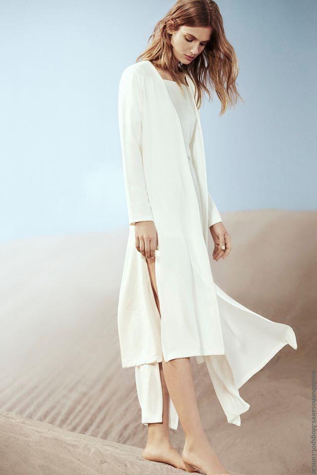 574fced4b6fe Túnicas y sacos con tajos laterales moda mujer verano 2017. Moda mujer  verano…