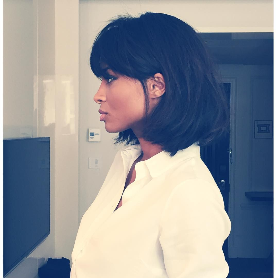 Todays Hair Behind The Ear PulpFiction Inspired Hair By Sami - Bob hairstyle behind ears