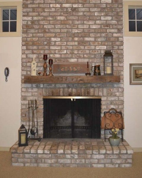 Image Result For Barn Beam Fireplace Mantel Images Red Brick