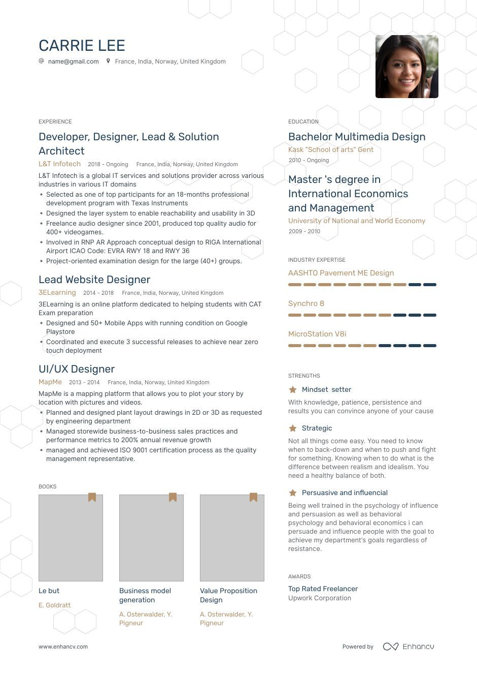 TOP Graphic Designer Resume Examples & Samples for 2020