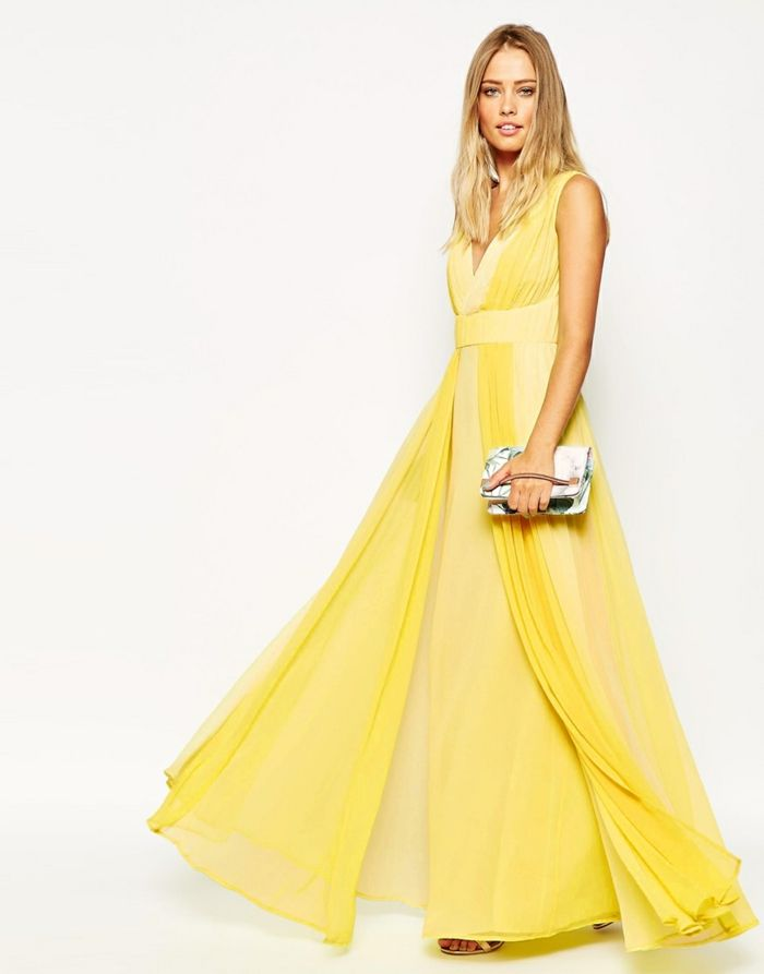 Gelbes Kleid - Modische gelbe Kleider 2016 | Gelbes kleid ...