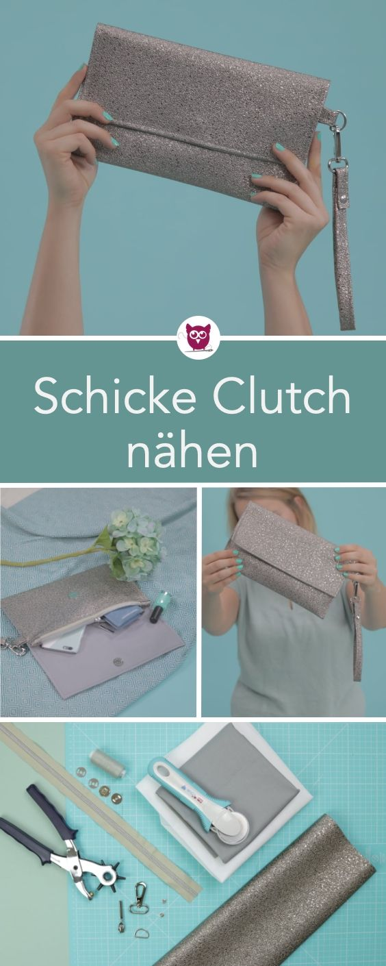 Photo of #ClutchClara aus dem #DIYeuleBuch : Nähanleitung für eine schicke und schlicht…