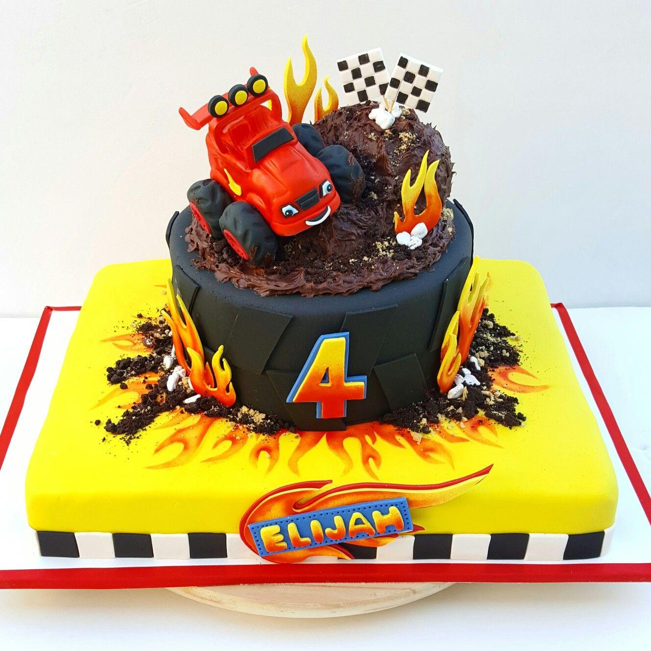 Blaze And The Monster Machine Birthday Cake Birthday