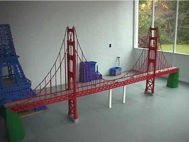 Golden Gate Bridge Lego Bridge Design 2 X 4
