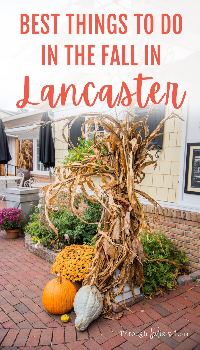 7 Fun Things To Do In Lancaster Pa In The Fall In 2020 Usa Travel Destinations Things To Do Fall Travel