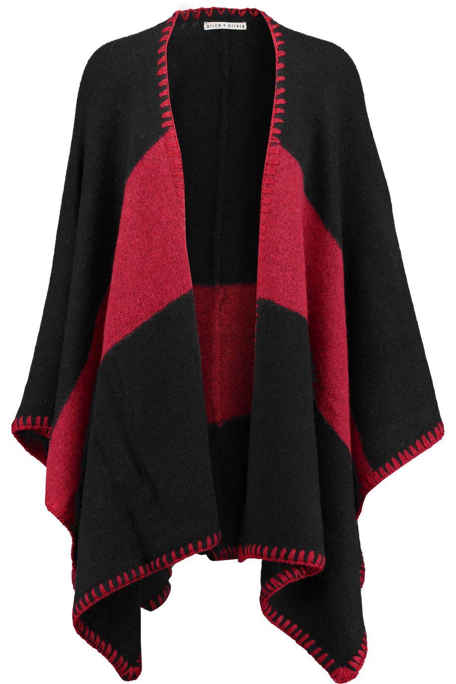 OLIVIA AND ALICE cape tone aliceandolivia two Kamala knitted 5Pf4UnfWT