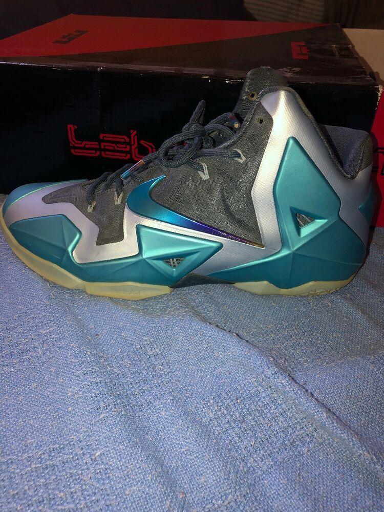 half off 4c48a 3c5dc Nike LEBRON 11 XI Armory Slate Gamma Blue 2013 Mens Used 12 616175-401   fashion  clothing  shoes  accessories  mensshoes  athleticshoes (ebay link)