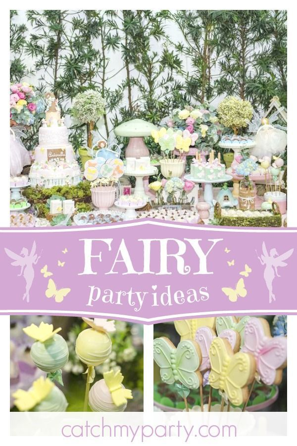 Fairy Baby Shower Fairy Birthday Party Party Party Party