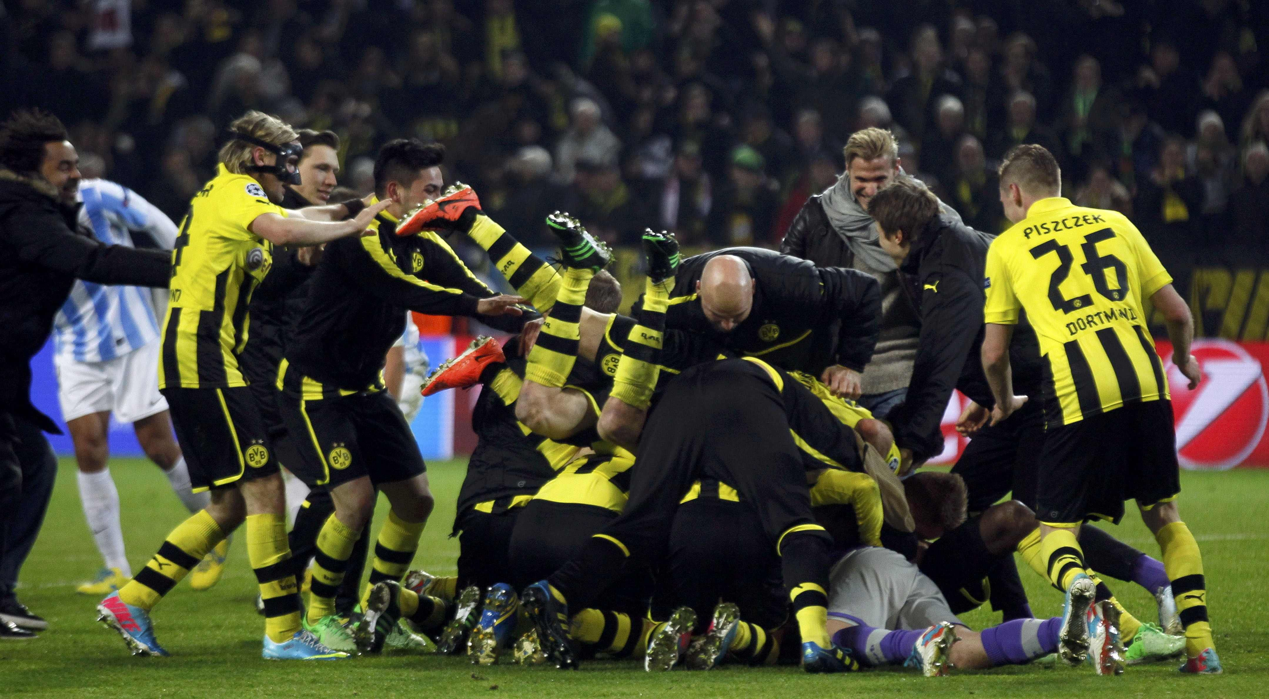 Borussia Dortmund vs Malaga CF