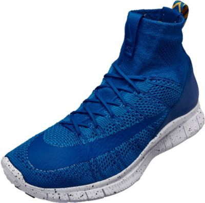 Nike Free Flyknit Mercurial in Game Royal colors. Buy it from SoccerPro on  clearance now. Football CleatsNike FootballBasketballRoyal ...