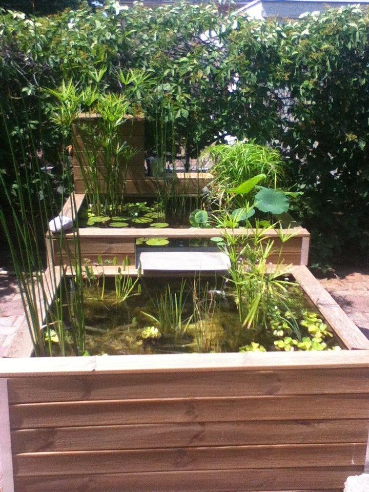 Best bassin de jardin hors sol en kit pictures design for Bac a poisson 1000l